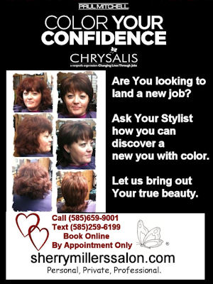 February 2012 at Sherry Miller's Golden Chair Salon